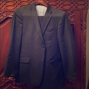 Men's Black Tommy Hilfiger Suit Sz 42 pants 32
